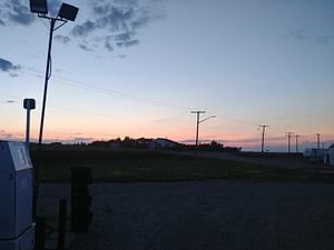 Canadian Sunset, Gas Tank Half-Full